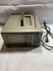 WORKING-GE-General-Electric-Spacemaker-Color-Portable-TV-Television-AM-FM-Radio