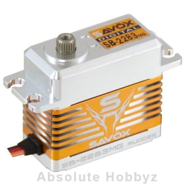 Savox sb-2283mg de alto voltaje sin escobillas Digital Servo 0.048 / 138,9  7.4 v