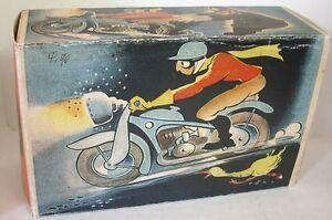 Blechspielzeug Repro Box TCO Tippco Motorrad Nr.590