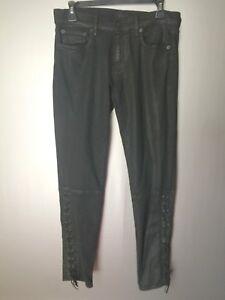 Jeans la Polo Equestrian Jean à Ralph 30 à Moto cheville Tompkins lacets skinny Lauren P0F7AWUqZ0