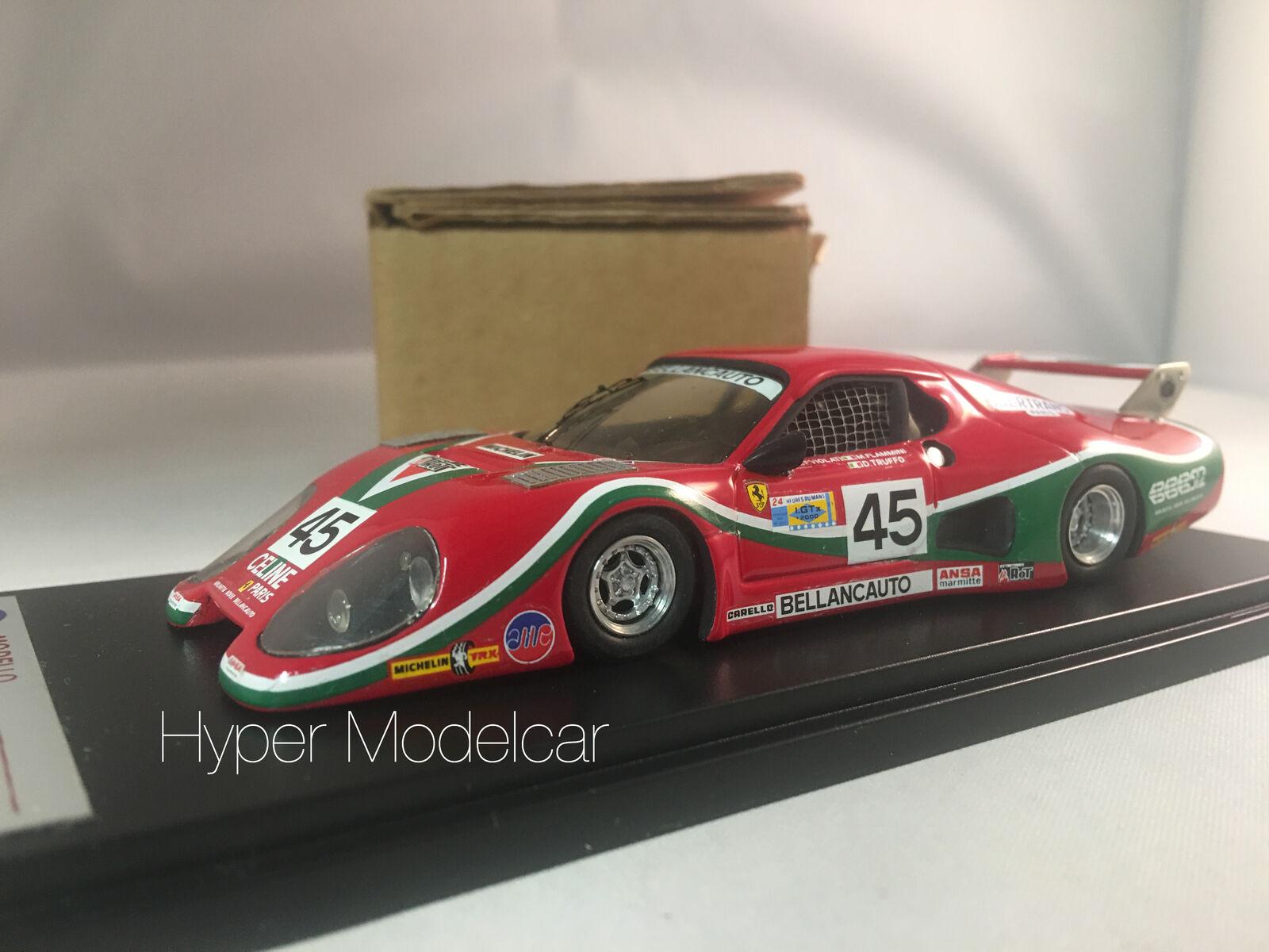 AMR 1 43 Ferrari 512 BB  45 Bellancauto Le Mans 1981