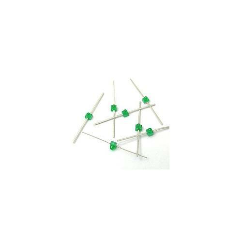 [50pcs] HLMP-6800 LED Green AXIAL