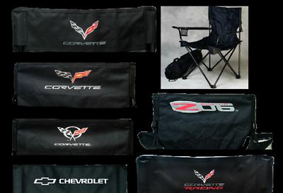 Awe Inspiring Chevrolet Bowtie Corvette C7 C6 C5 Z06 Travel Chair Camping Folding Fold Up Ebay Ibusinesslaw Wood Chair Design Ideas Ibusinesslaworg