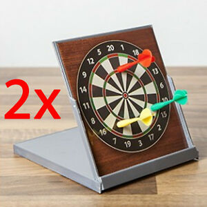 Etonnant Image Is Loading 2 X DESKTOP DARTBOARD MAGNETIC STRESS RELIEF TOY