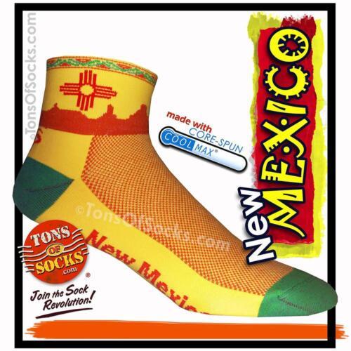 Yellow CoolMax® New Mexico Performance Socks