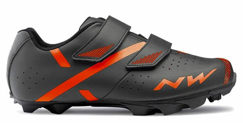 shoes Ciclismo MTB - NORTHWAVE SPIKE 2 - Misura 42 - color Antracite Arancio