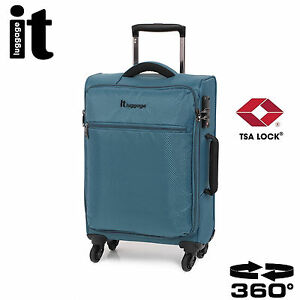 IT Carry On Luggage The LITE Trolley Cabin Bag Lightweight TSA ...