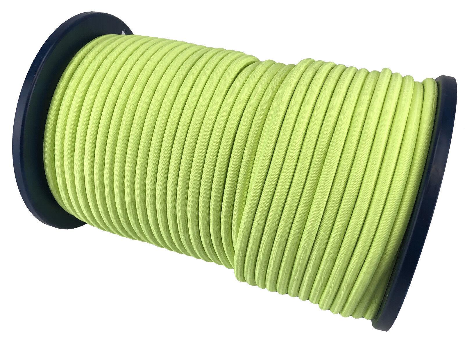 10mm Fluoreszierend Gelb Elastisches Gummi Gummi Gummi Seil Gummiseil Festbinden X 75 M a0a9f6