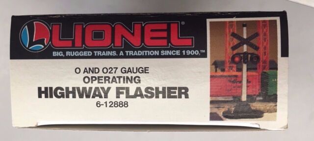 Lionel LNL612888 O-27 #154 Crossing Flasher