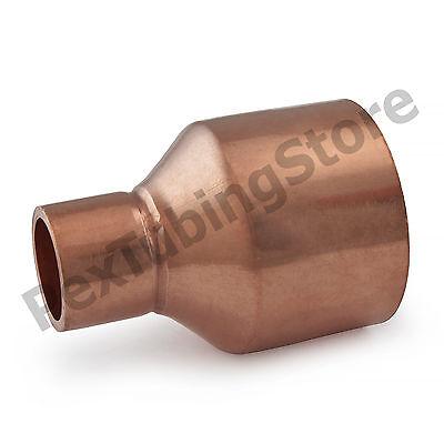 """1//2/"""" C x 1//4/"""" C Copper Reducing Coupling"""