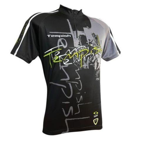 Sportshirt, Herren Herren Sportshirt, T-shirt für Inline und Radfahren, Tempish S-XL mit 3 Taschen 46a139