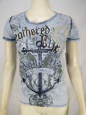 Wegmans Womens Uniform Shirt Top Aqua Medium Short Sleeve 100 Years