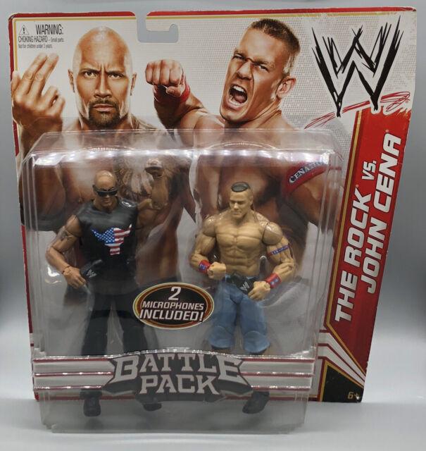 WWE Battle Pack Series 15 The Rock vs John Cena Figure 2 pack Mattel NEUF