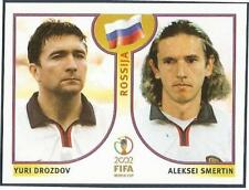 PANINI KOREA/JAPAN WORLD CUP 2002- #525-RUSSIA-YURI DROZDOV / ALEKSEI SMERTIN