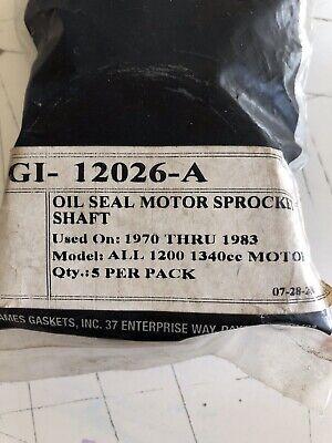 Double Lip James Gasket  12026B Motor Sprocket