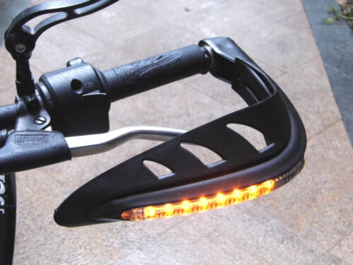 LED Hand guards Integrated Indicators Suitable for KTM 660 690 SMC R Supermoto
