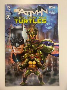 DC BATMAN/TEENAGE MUTANT NINJA TURTLES #1 OF 6 GAMESTOP COVER : VF CONDITION