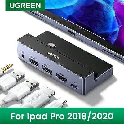 UGREEN USB C Hub Adapter for iPad Pro 2020 2018 USB-C Hub ...