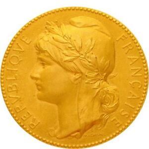 L5508-Medaille-Marianne-Lechevrel-Mr-Touche-Conseille-Arrondissement-Dore-gt-F-O