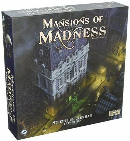 Mansion of Madness Streets of Arkham Strategy Board spel New