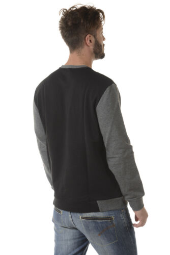Hoodie Ea7 Armani Sweatshirt Felpa Cotone Uomo 6ypm99pj11z Nero Emporio 1200 wPRIBqxS