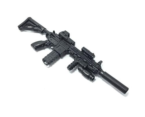1//6 Scale HK416 Assault Rifle US Army Heckler /& Koch Gun GI JOE Action Figure