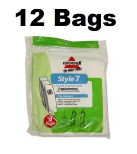 12-GENUINE-Bissell-Style-7-Vacuum-Cleaner-Bags
