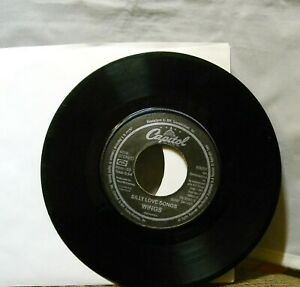 WINGS-SILLY-LOVE-SONGS-CAPITAL-LABEL-COOK-O-FTHE-HOUSE-45-RPM-RECORD