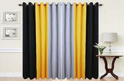 Eyelet Curtains Ring Top Fully Lined