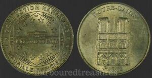 Monnaie-de-Paris-Notre-Dame-2003-Tourist-Medal-Jeton-Token-Coin