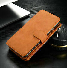 Luxury Leather Stand Stylish Wallet Card Case Cover for Apple iPhone 5 6 and 7