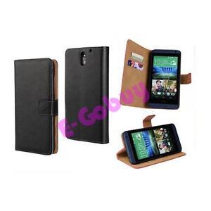 Noir-Authentique-Cuir-Clapet-Etui-Portefeuille-Stand-pour-Motorola-Phone-Modeles