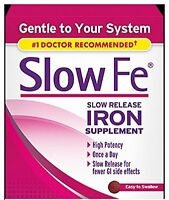 6 Pack - Slow Fe Slow Release Iron Supplement - 30 Tablets Each on sale