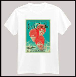 RESPECT Supreme Blocked Aretha Franklin tee Soft Men/'s T-Shirt