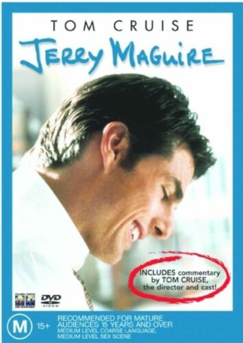 1 of 1 - Jerry Maguire DVD Tom Cruise Renee Zellweger Cameron Crowe Jerry O'Connell