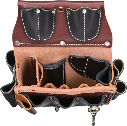 Occidental Leather 5589 Leather Electricians Tool Case Belt w// 25 Pockets