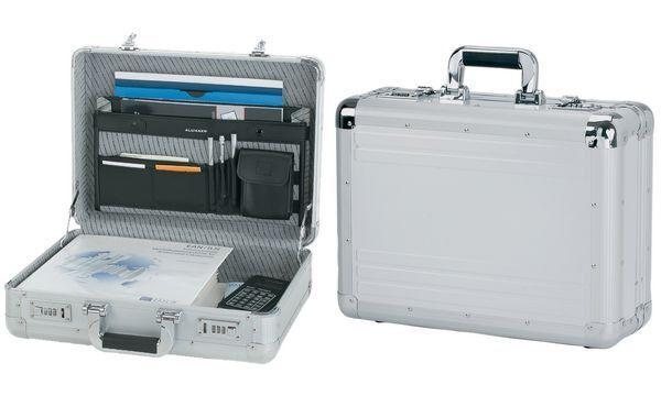 ALUMAXX Attaché-Koffer  TAURUS , , , Aluminium, silber | New Style  | Flagship-Store  | Spielzeugwelt, glücklich und grenzenlos  30013b