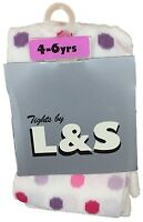 GIRLS TIGHTS BABY PATTERNED TIGHTS 6 Months - 6 Years BNWT