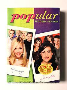 Popular-The-Complete-2nd-Second-Season-2-The-WB-Highschool-Drama-Sitcom-on-DVD