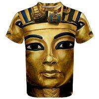 King Tut Tutankhamun Sublimated Men's Sport Mesh T-Shirt XS-3XL FREE shipping