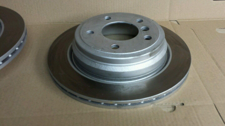 ATE2 Bremsscheiben Belüftet 300 mm Bremsbeläge Hinten u.a für BMW