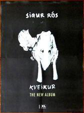 SIGUR ROS Kveikur 2013 Ltd Ed New HUGE Rare Poster +FREE Indie/Rock/Pop Poster!