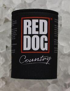 Red Dog Stubby Holder Neoprene + Free Red Dog Australia Bumper Sticker
