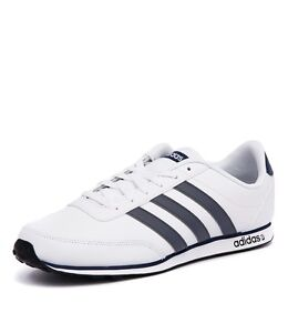 9f1cc7687 Image is loading ADIDAS-V-RACER-2-0-MENS-WHITE-TRAINERS-
