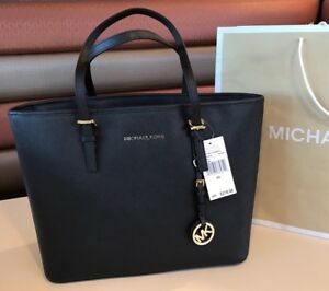 4c7b8a74d206 New  278 Michael Kors Jet Set Travel Handbag Purse MK Saffiano ...