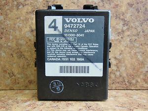 1998 2000 volvo c70 s70 v70 keyless entry alarm receiver moduleimage is loading 1998 2000 volvo c70 s70 v70 keyless entry