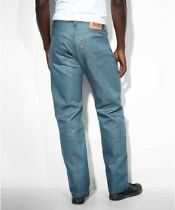 New Mens Levis Levi Jeans Shrink to Fit 501 5 Pocket Button Fly Straight