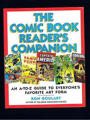Comics Good Vintage ~ The Comic Book Reader's Companion ~ Ron Goulart ~ 1st Ed ~ Ex Cond Elegant And Sturdy Package