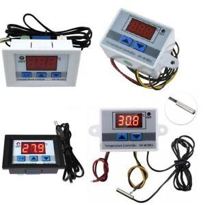 Digital-LED-Temperature-Controller-12V-24V-220V-Thermostat-Control-Switch-Probe