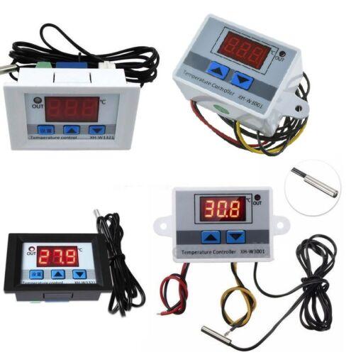 12V//24V//220V Digital LED Temperature Controller Thermostat Control Switch Probe